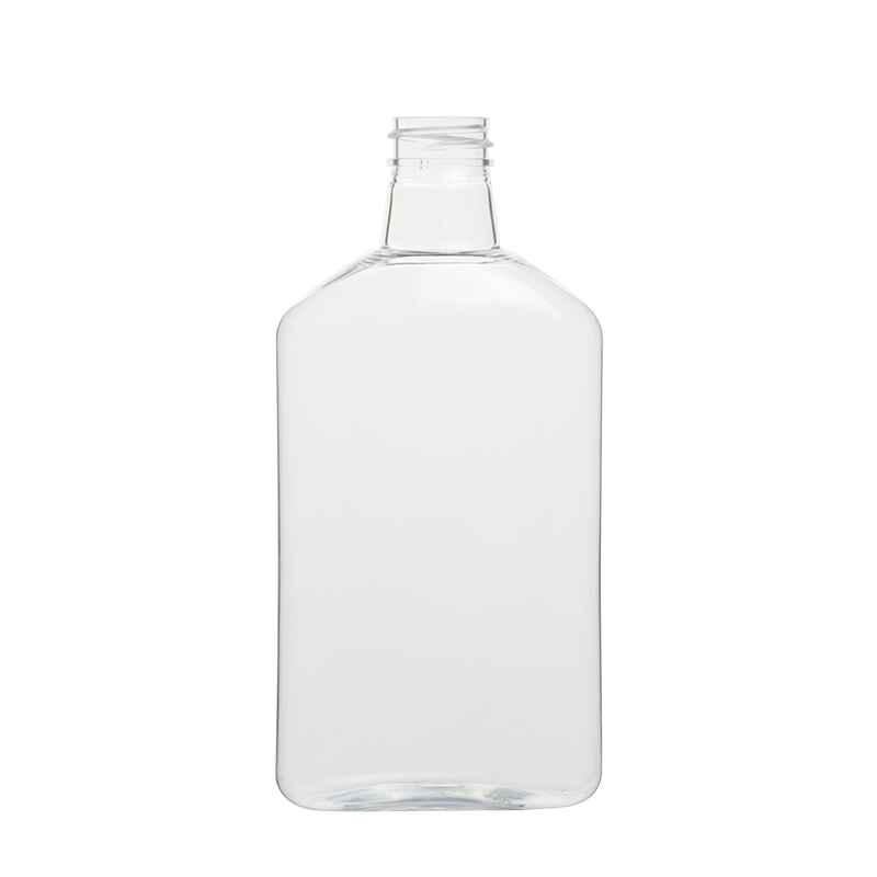 400ml Flat Oval Plastic Bottles Lotion Bottles Bulk